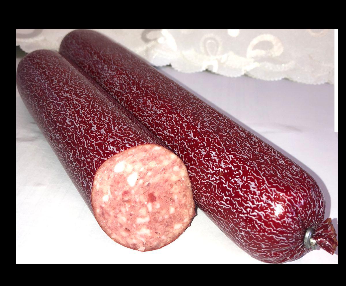 Ковбаса Сорочинська напівкопчена з курячим м'ясом
