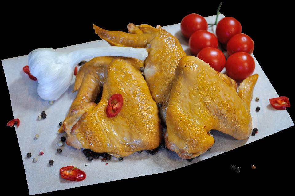 Крыло куриное варено-копченое