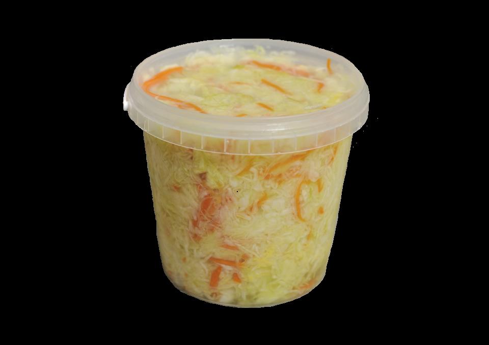 """Салат """"Традиційний"""" з білоголової капусти."""
