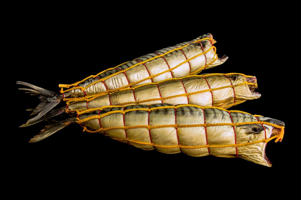 Скумбрія 300-500 обезголовлена