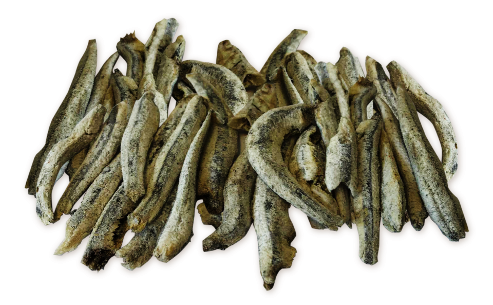 Fish snack anchovy
