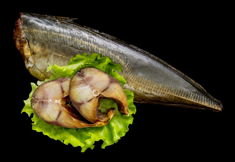 Cold smoked horse mackerel 600-900 carcass