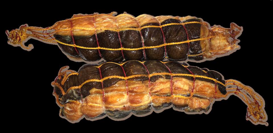 Hot smoked Wolffish fillet